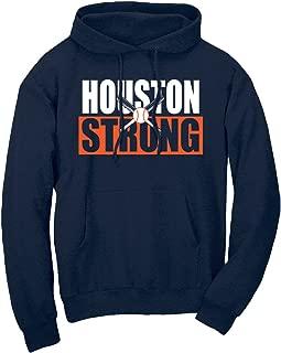 Xtreme Houston Strong Crossed Bats Hoodie Sweatshirt