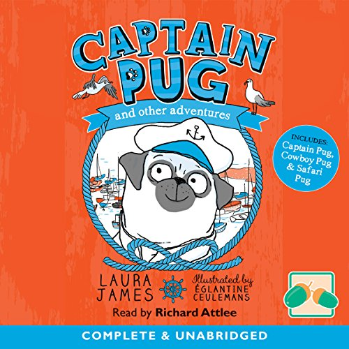 Captain Pug and Other Adventures audiobook cover art
