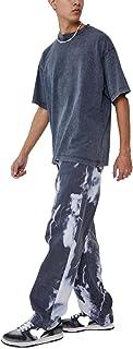 Pantaloni Moda Uomo Tinta Unita Jeans Casual Jeans Casual da Indossare Ogni Giorno