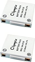 2 Pack Replacement Battery GN9120 for GN Netcom 9120 Wireless Headset (300mAh, 3.7V, Li-Pol)