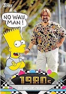 Matt Groening trading card (Bart The Simpsons) 2011 Topps #163