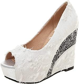 Zanpa Women Fashion Wedges High Heels Pumps