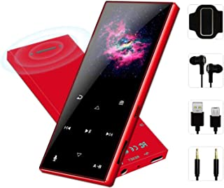 FenQan MP3 Player - MP3 Player with Bluetooth 4.2, Portable Hi-Fi Lossless Sound Music Player with FM Radio Voice Recorder...