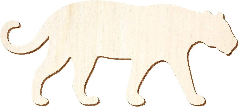 Holz Jaguar - 3-50cm Breite - Basteln Deko, Pack mit 100 Stück, Größe 39cm B07Q8KV2JM  | Merkwürdige Form