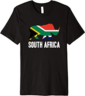 South Africa Rhino Rhinoceros Safari Gift Premium T-Shirt