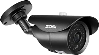 ZOSI 2.0 Megapixel 1080P HD-TVI CCTV Security Camera Waterproof Outdoor Indoor Security Day Night Vision Cameras 120ft IR Distance,ONLY Compatible with HD-TVI Surveillance DVR