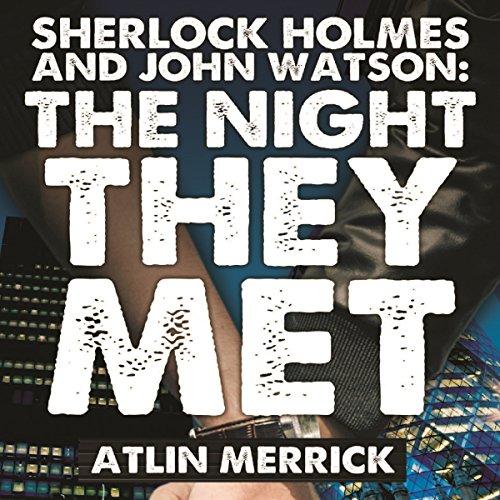 Sherlock Holmes and John Watson audiobook cover art