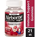 Airborne Mixed Berry Flavored Gummies, 21 count - Vitamin C 1000mg -  Immune Support Minerals & Herbs,  Antioxidants (Vitamin A, C & E), Gluten-Free