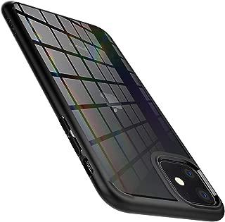 【Spigen】 iPhone 11 ケース 6.1インチ 対応 背面 クリア 米軍MIL規格取得 耐衝撃 カメラ保護 衝撃吸収 Qi充電 ワイヤレス充電 ウルトラ・ハイブリッド 076CS27186 (マット・ブラック)