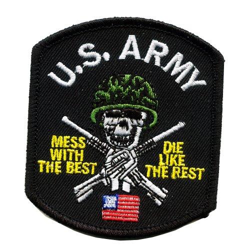 United states army tête de mort skull soldat américain patch patch patch 0006