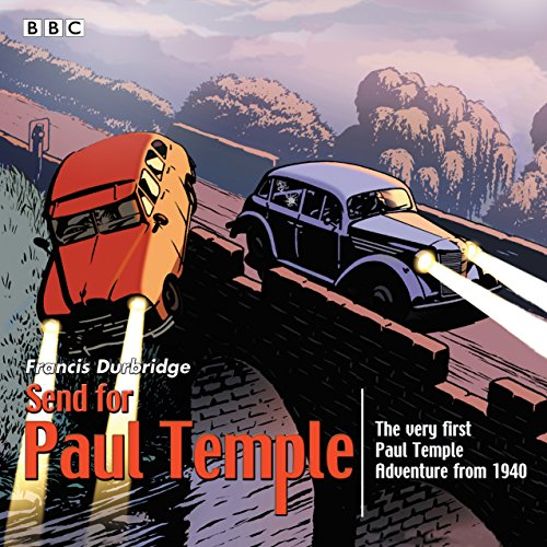 Send for Paul Temple audiobook cover art