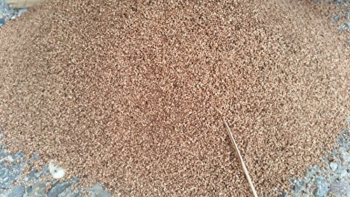 VersaCork Prato Sintetico Infill in granuli di Sughero Naturale 125Litri Ricambio/Alternative per Granulato di Gomma