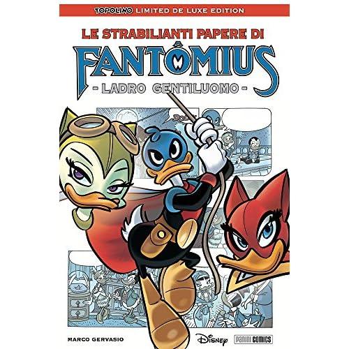 TOPOLINO LIMITED DELUXE EDITION  17- LE STRABILIANTI PAPERE DI FANTOMIUS