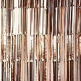 TOYLAND® 1.2M Rose Gold Tinsel Lametta Garland - Decorazioni per Alberi di Natale