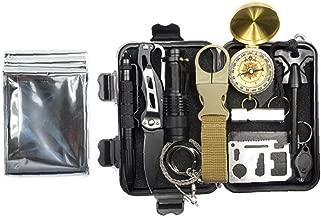 camping et p/êche outil multifonction-adventure-feu 16370 Survival kit durgence de survie for/êt dext/érieur /étanche aventure trecking militaire arm/ée