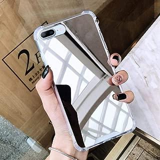 Hard Mirror Case for Huawei P20 Lite P30 P10 lite P Smart 2019 Protective Case for Huawei Mate 10 20 Lite Cover Funda Coque,Silver,p10 lite