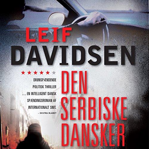 Den serbiske dansker audiobook cover art