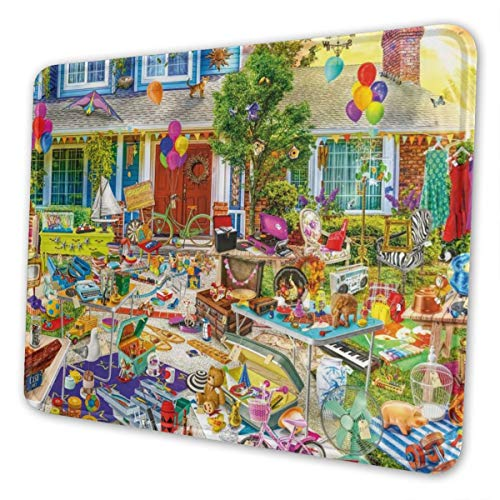 Yard Sale Multi-Size Gaming Mouse Pads for Adults and Children are Suitable for Office, Gaming, and Learning 10 X 12 Inch