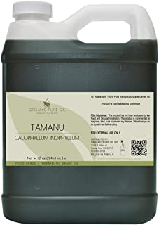Tamanu Oil - 100% Pure, Natural, Organic Sourced, Unrefined, Non-GMO, Cold Pressed, Nut Carrier Oil for Skin, Hair, Nails,...