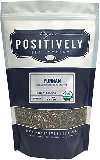 Positively Tea Company, Organic Yunnan, Black Tea, Loose Leaf, USDA Organic, 1 Pound Bag
