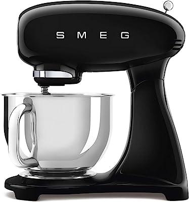 Smeg SMF03BLUS Retro Style 5 Quart Stand Mixer - Black