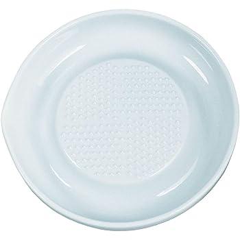 KYOCERA Keramikreibe CD-18 Obst- und Gemüsereibe aus Keramik mit extra scharfen Zähnen und Auffangring. Durchmesser: 16 cm