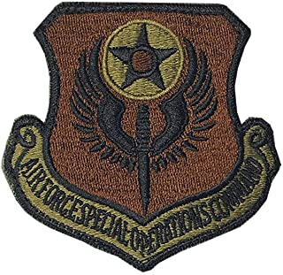 US Air Force Special Operations Command OCP Spice Brown Patch with Hook Fastener