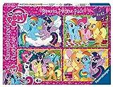 My Little Pony - Bumper Pack, Puzzles 4 x 42 Piezas (Ravensburger 06875)