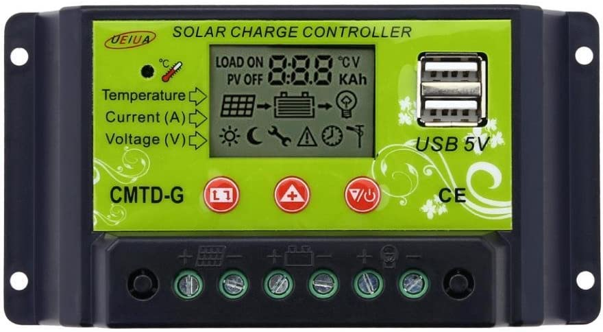 Sun YOBA New color 10A Solar Charger Oklahoma City Mall Controller Panel Battery Intell