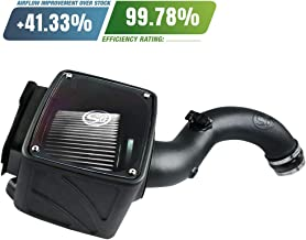 S&B Filters 75-5102D Cold Air Intake For 2004-2005 Chevy/GMC Duramax LLY 6.6L (Dry Extendable Filter)