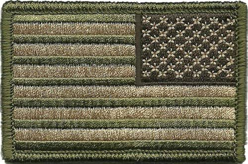 Tactical Max 87% OFF Reverse USA Flag Patch Rare Multitan -