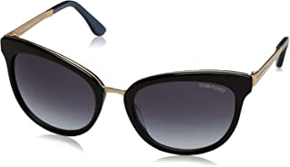 TF461 05W Black/Blue Emma Cats Eyes Sunglasses Lens Category 3 Size