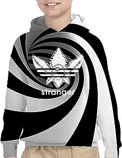 Stranger Things Teen 3D Print Hoodies Fashion Plus Velvet Hoodie Versatile Sweater for Boys and Girls