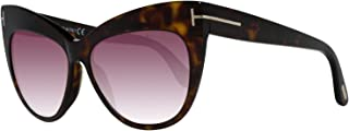 Sunglasses Tom Ford FT 0523 Nika 52F dark havana / gradient brown
