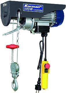 comprar comparacion Korman Tx - Polipasto eléctrico 500W – 125-250 kg (ref :500257)