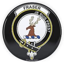 Tenacitee Scottish Clan Crest Badge Fraser of Lovat Pinback Button, 2.25