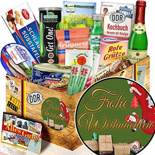 Frohe Weihnachten / Weihnachten Geschenk / Geschenk DDR Spezialitäten