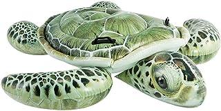 Intex 57555 Realistic Sea Turtle Ride-On 75 X 67, 191 x 171 cm Green
