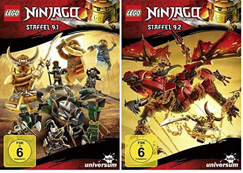 Lego Ninjago - Staffel 9.1 + 9.2 im Set - Deutsche Originalware [2 DVDs]