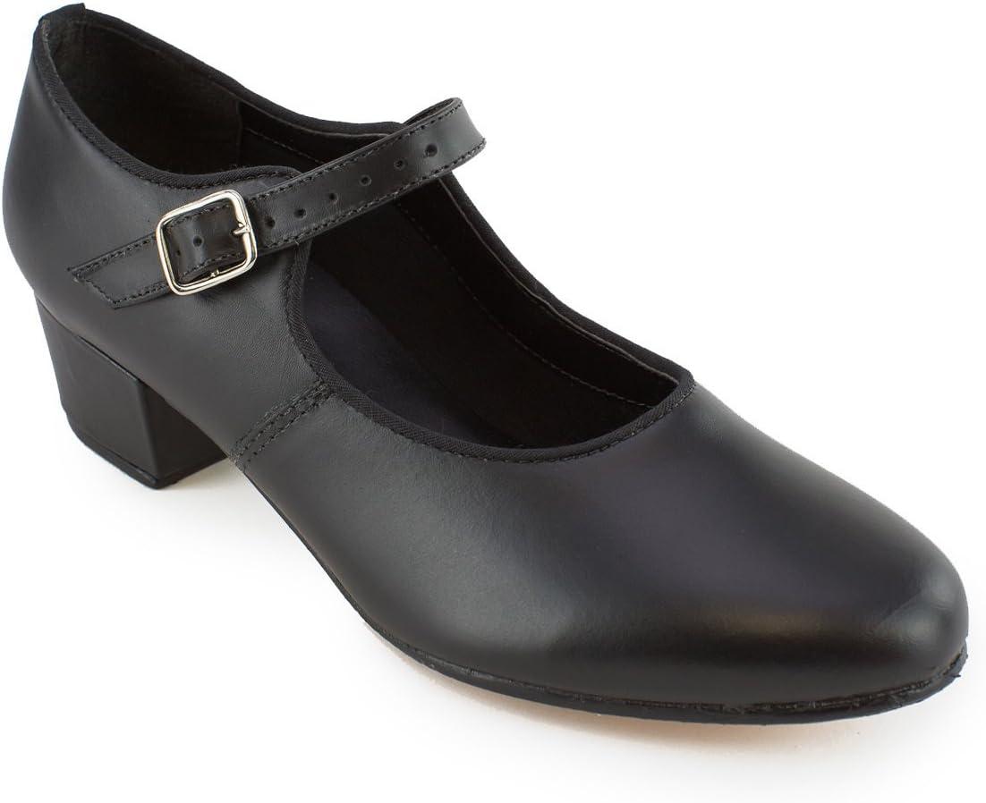 So Award-winning store Sale Danca CH01 Cuban Character Heel Shoe