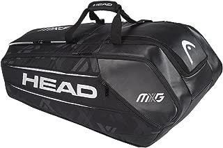 HEAD MXG 12 Racquet Monstercombi Tennis Bag (Black/Silver)