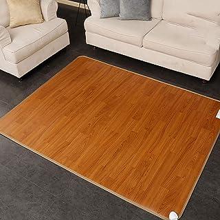 Almohadilla Calefactora Eléctrica por infrarrojos lejanos de uso múltiple, alfombra de calefacción de piso con control inteligente de temperatura Almohadilla de calentamiento cristalina de carbono