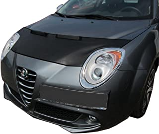 HOOD BRA Front End Nose Mask for Alfa Romeo Mito Bonnet Bra STONEGUARD PROTECTOR TUNING