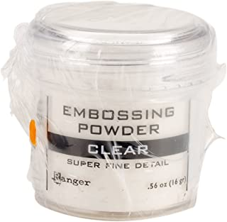 Ranger Embossing Powder, 0.56 Ounce Jar, Super Fine Clear