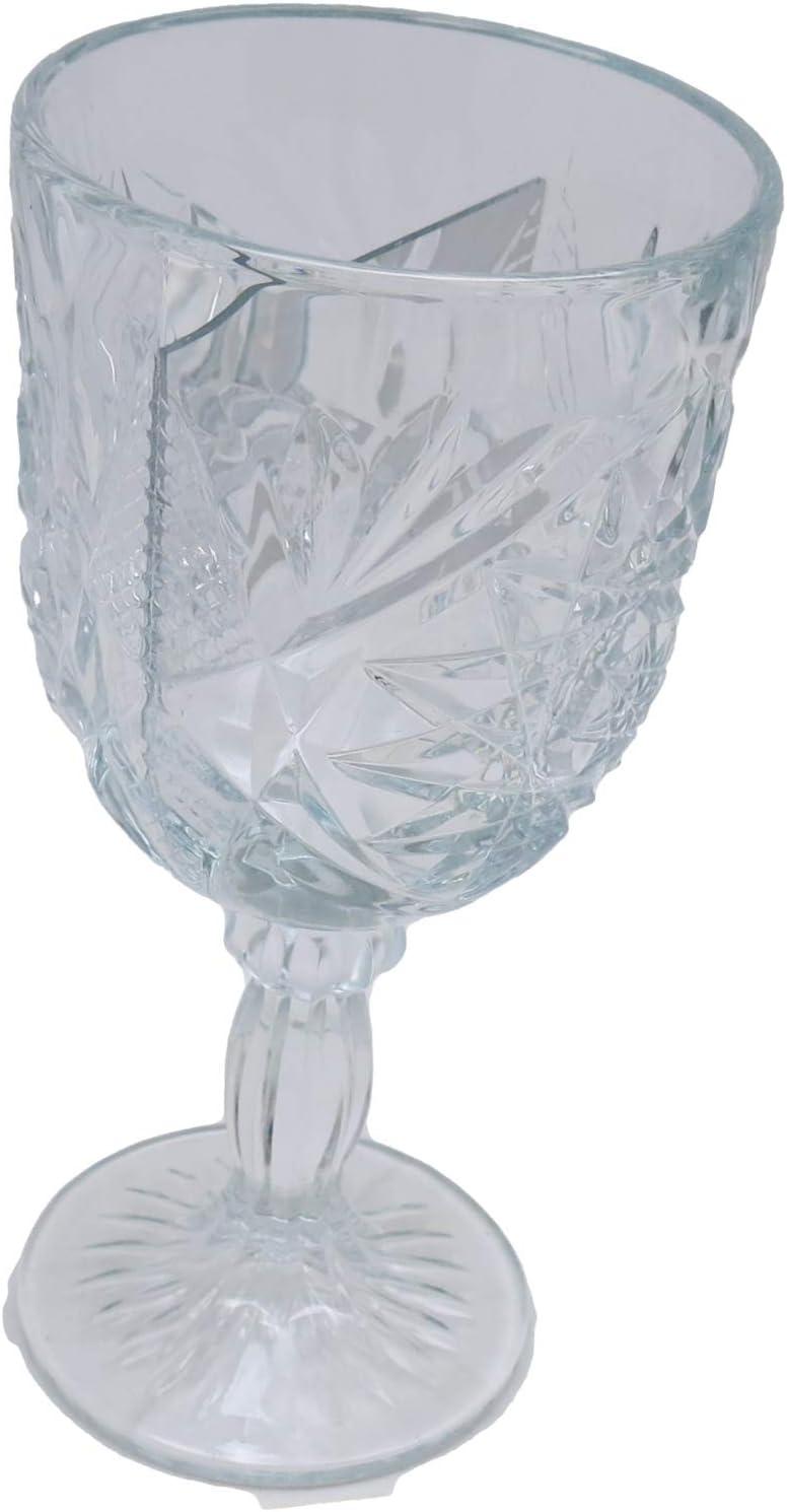 Stage Magic Crystal half 2021 model Mirror Goblet Props Tricks