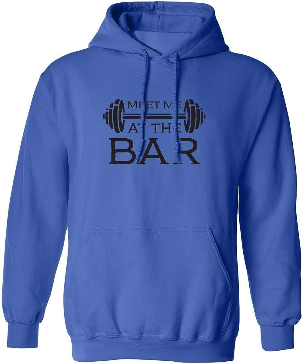 Meet Me at The Bar Adult Hooded Sweatshirt