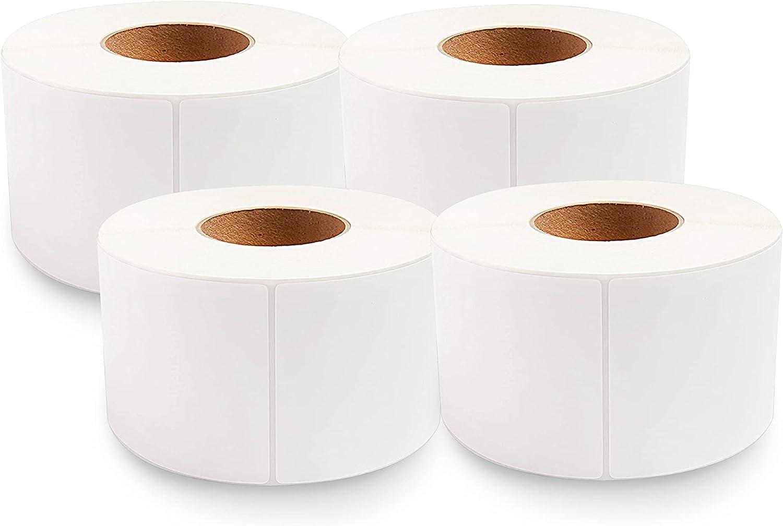 enKo 4 Rolls x 6 Direct Thermal - 4000 Tulsa Mall Labels Max 53% OFF A 3