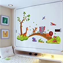 IndButy Wall Stickers Removable Wall Stickers Animal Crossing Children Bedroom Wallpaper Stickers Kindergarten Cute Wall Stickers 6090CM
