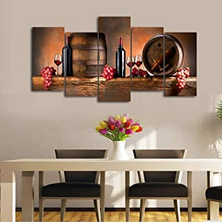 Fruit Cocktail Glass Square  Canvas Print Large Picture Wall Print