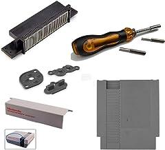 Link-e - lot d'accessoires compatibles pour réparation de console et jeux Nintendo NES